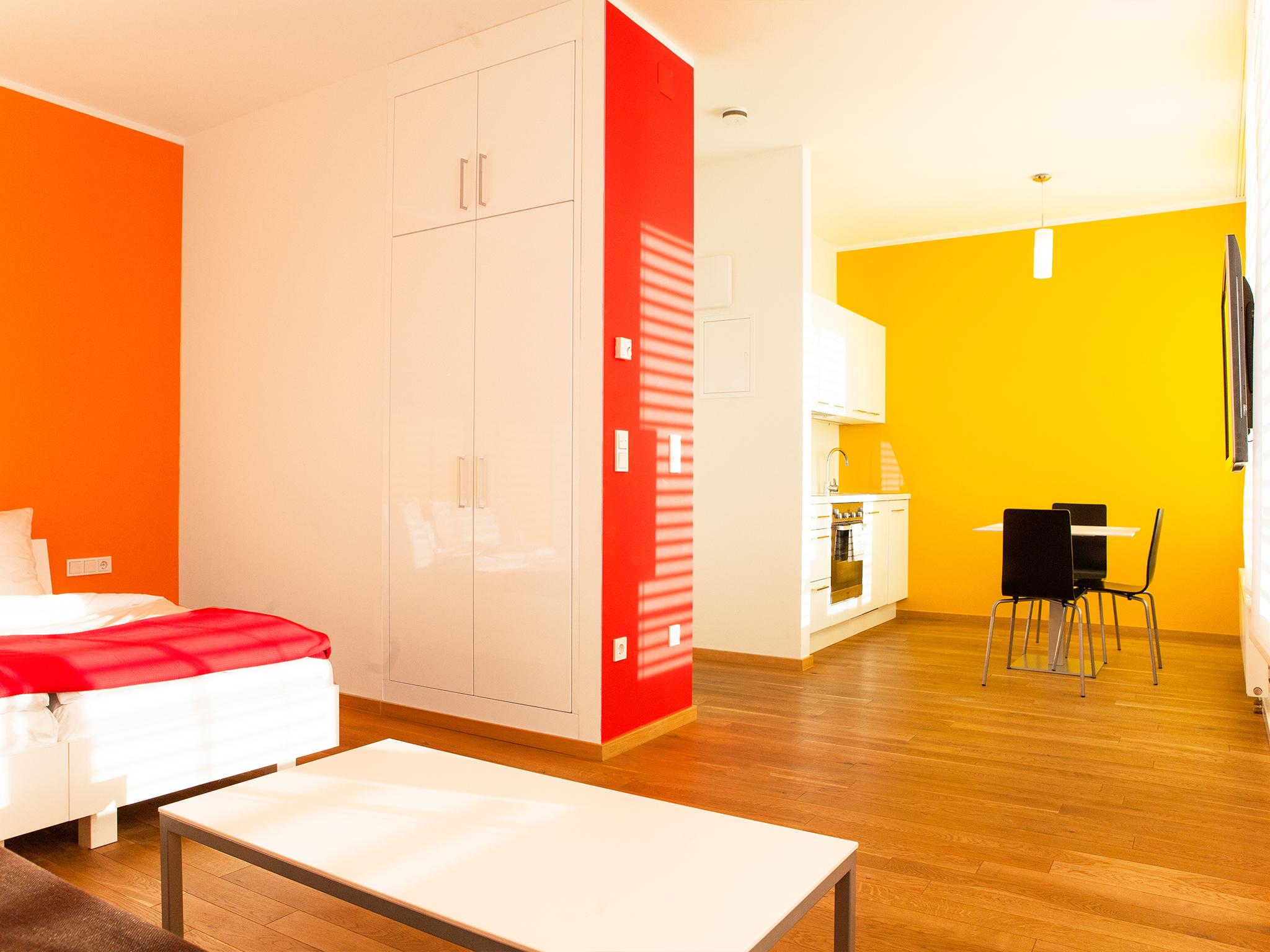 Apartment Feuer Wohnraum