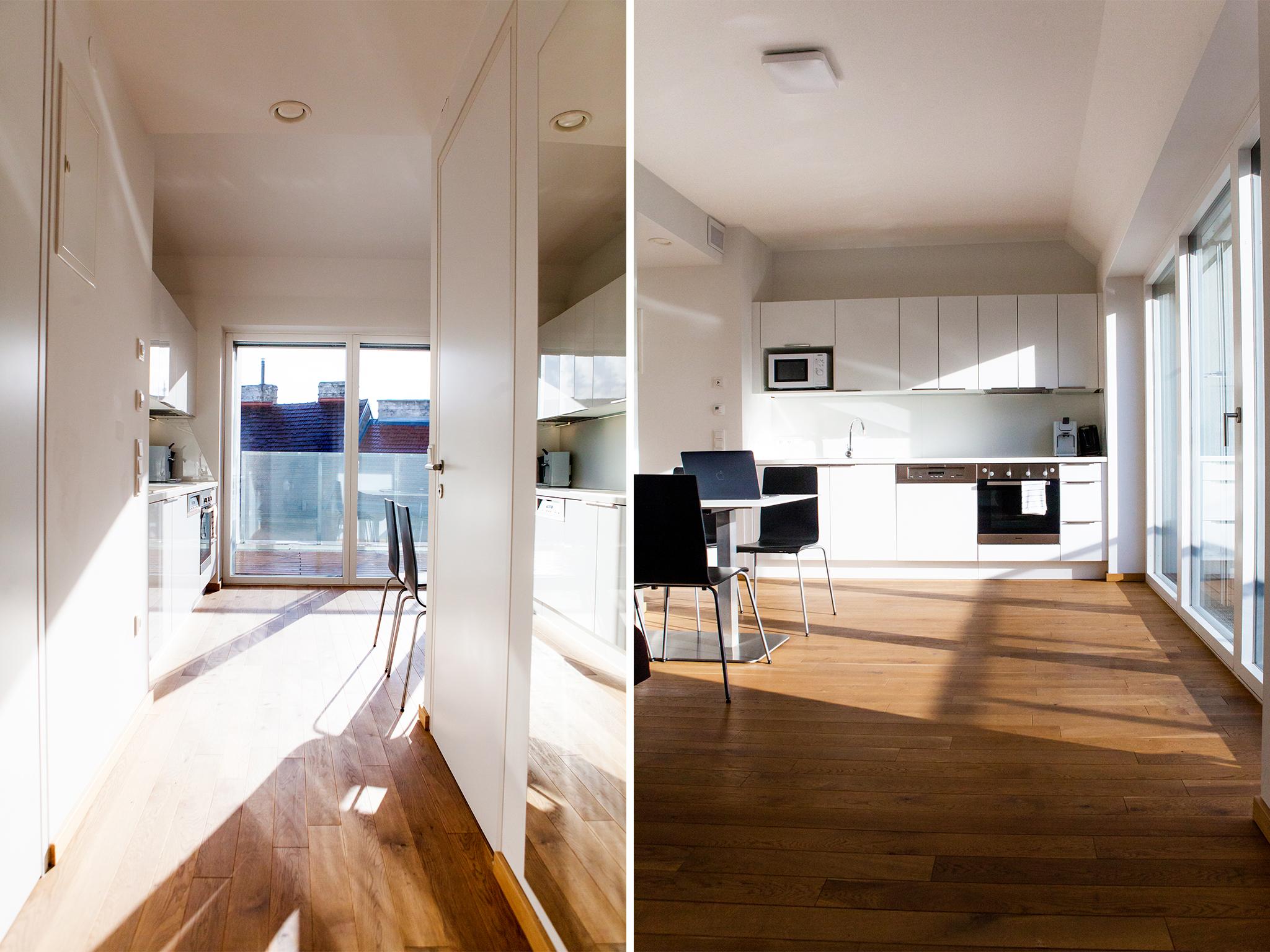 Apartment Plus 38 Vorraum Wohnraum