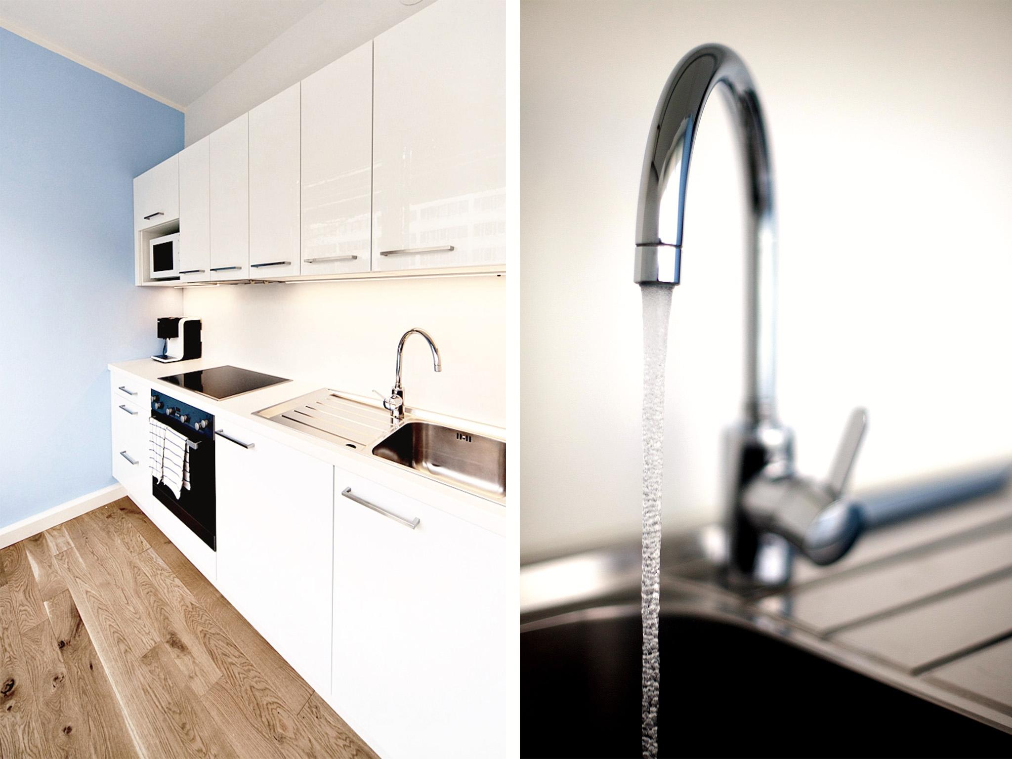 Apartment Wasser Kueche