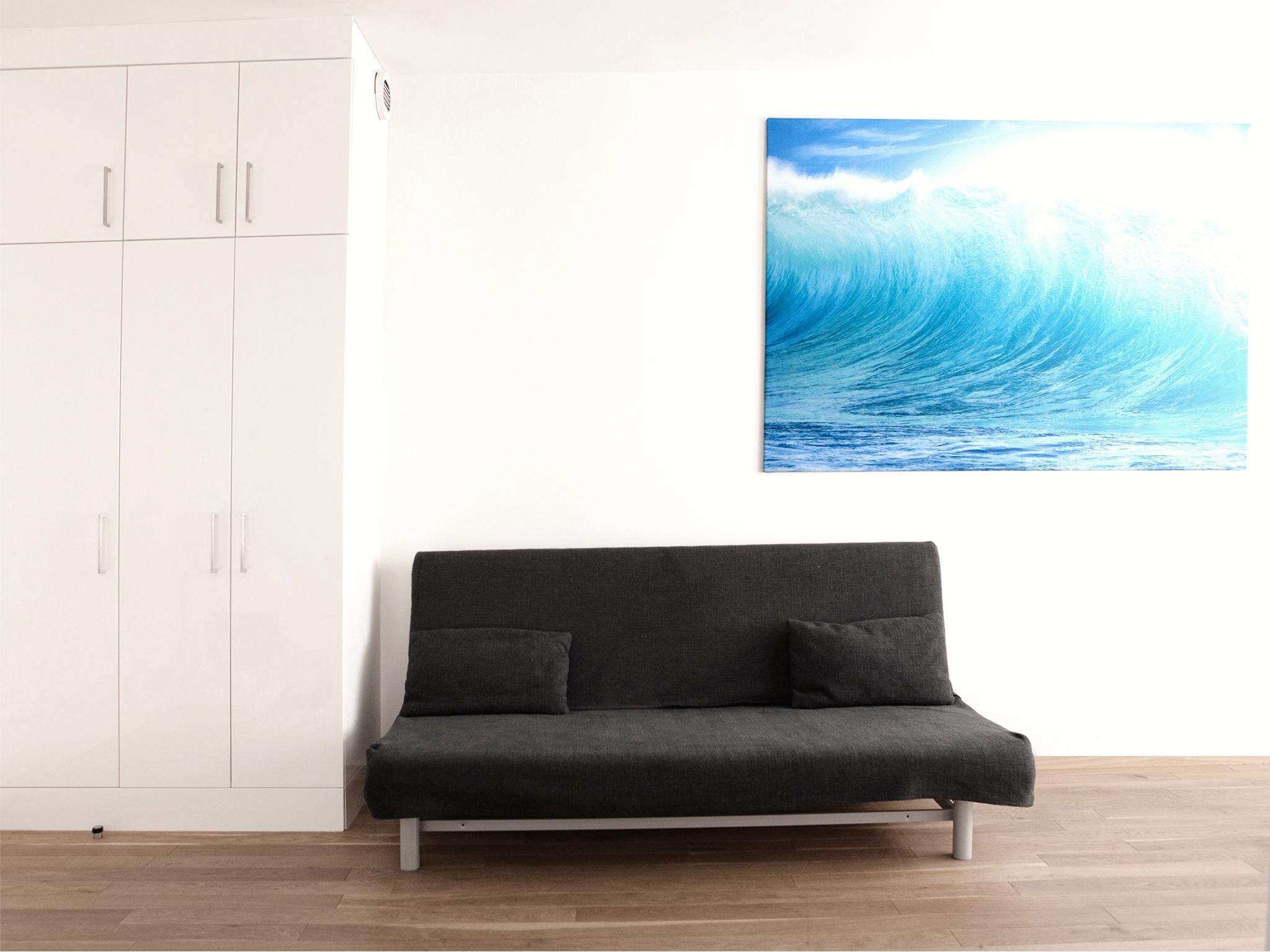 Apartment Wasser Wohnraum Sofa